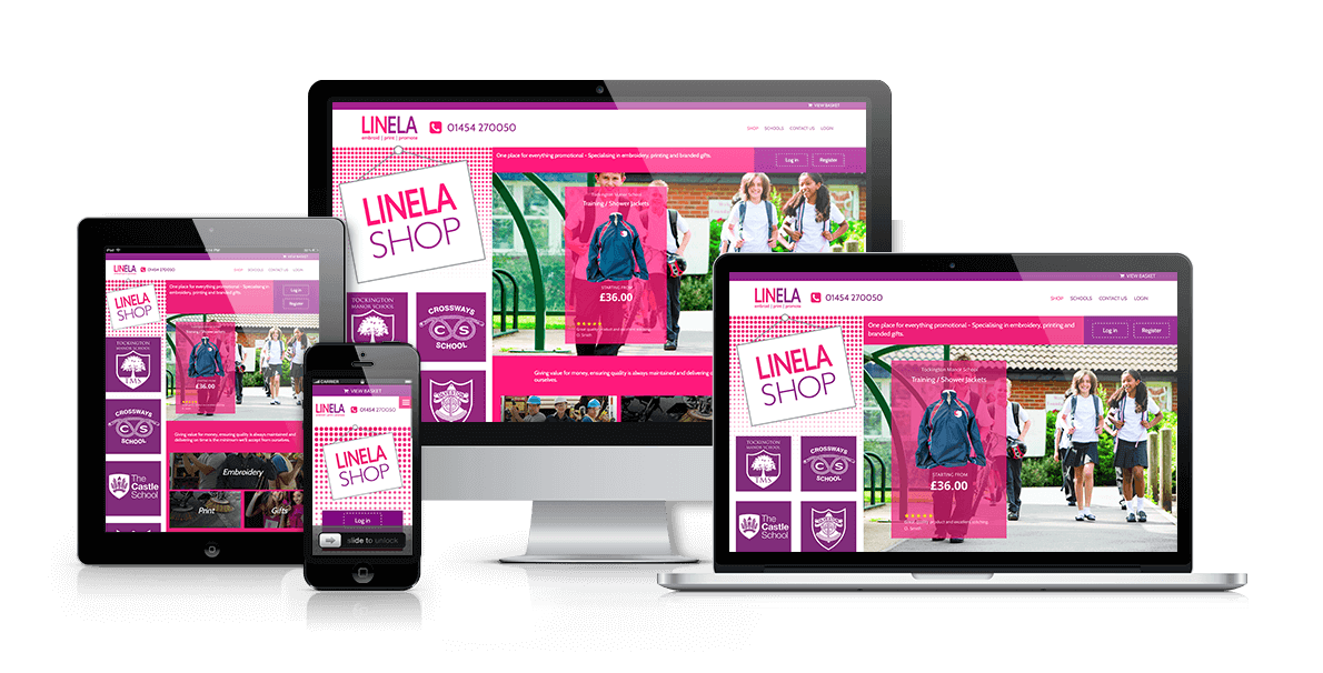 Ecommerce website design Bristol and the South West