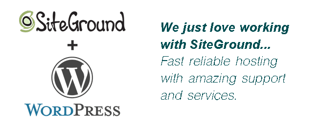 SiteGround + WordPress message