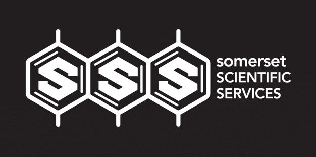 SSS logo reversed brand identity design