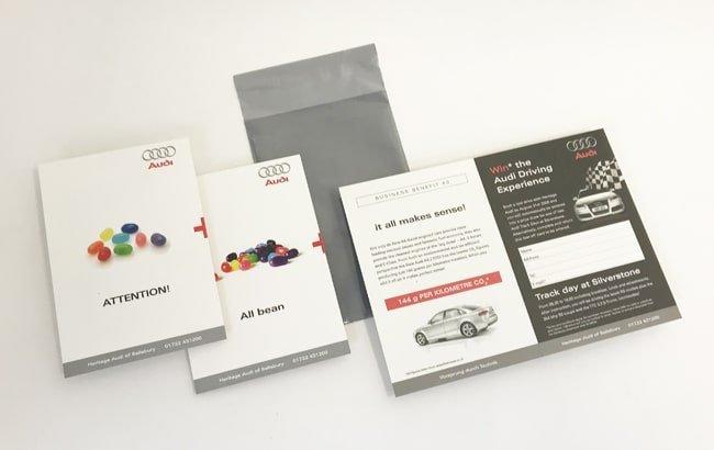 Mailshot design