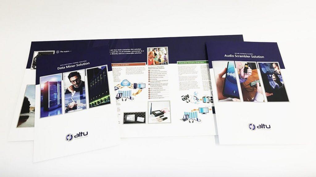 Altu Brochures Design for print