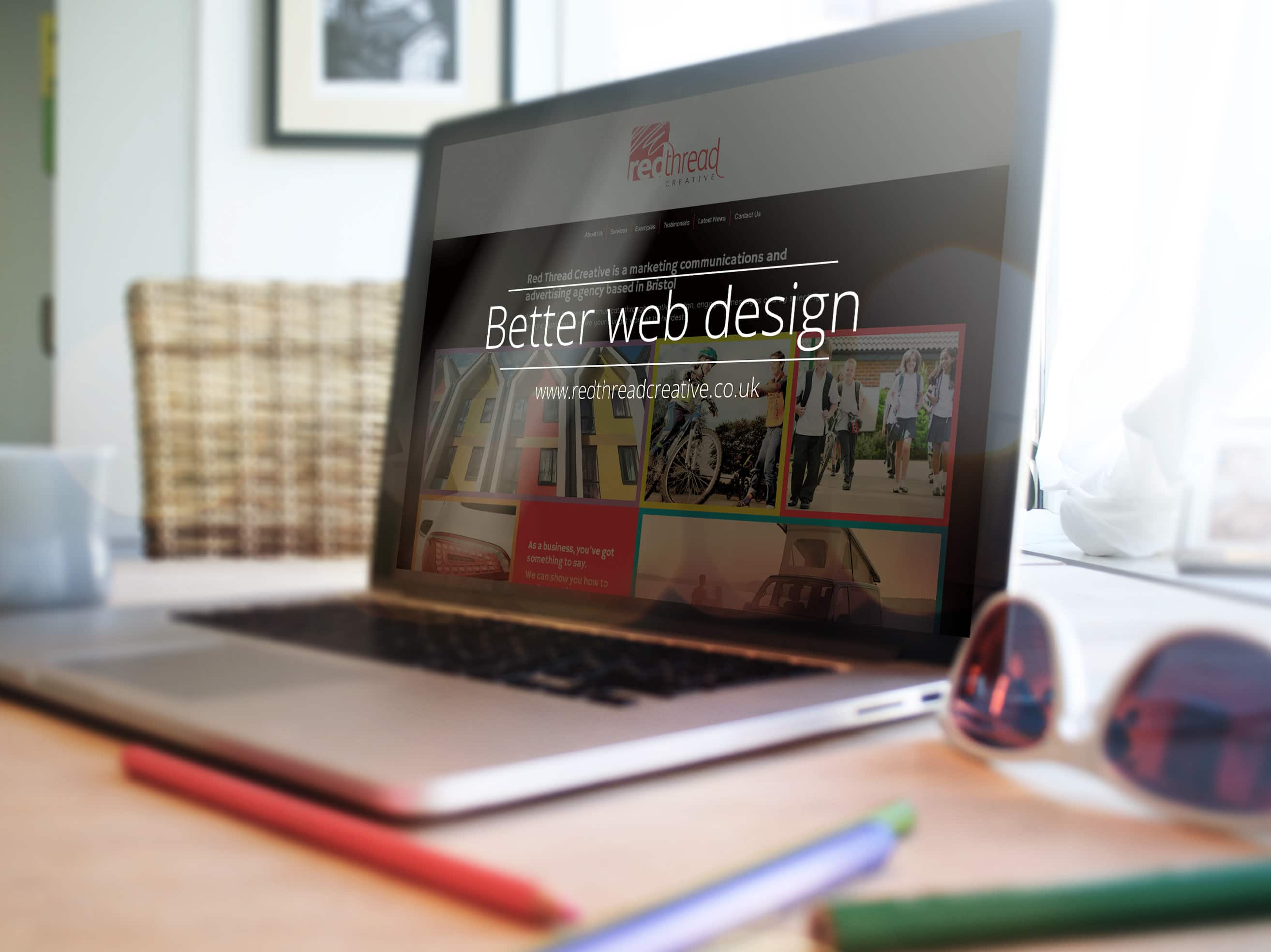 Better website design