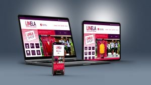 UK web designers ecommerce Linela Shop